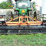 15 ft wide Falc Tiller with Bedder