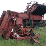 2 Row Hesston Potato Harvester