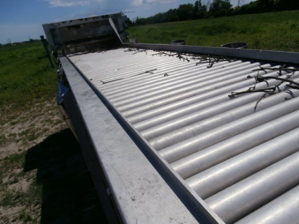 """23' x 35"""" Roller Sorting Table"""