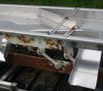 "30"" x 24' Stainless Steel Vibrating conveyor"