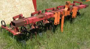 6 Row Kongskilde Cultivator