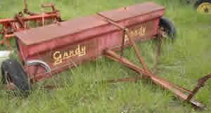 8 Foot Gandy Fertilizer Spreader
