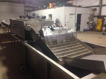 Stainless Steel French Fry Cutting Line
