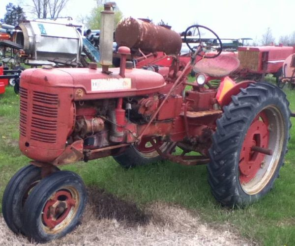Int C Tractor