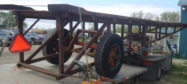 Portable Truck Loading Ramp