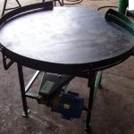 Round Packing Table