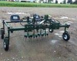 Willsie 2 Row Hydraweeder for organic weeding