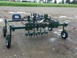 Willsie 2 Row Hydraweeder for organic weeding